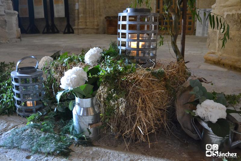 El encanto de la hortensia s nchez arte floral - Decoracion con hortensias ...